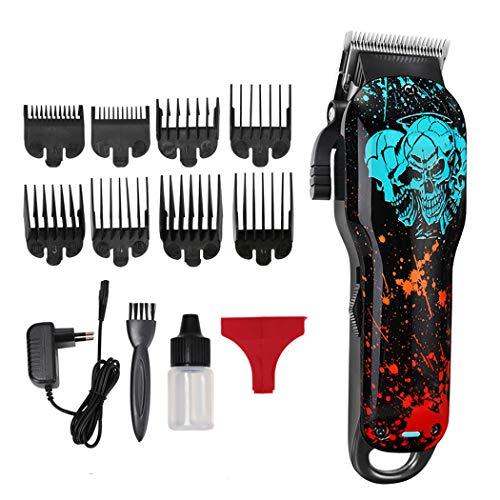 JUSTDOLIFE Cortadora de pelo eléctrica Set Creative Professional Hair Clipper Hair Shaver...