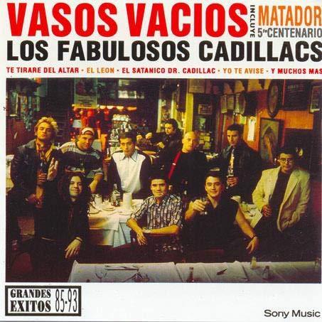 Album Art for Vasos Vacios: Grandes Exitos 85-93 by Los Fabulosos Cadillacs