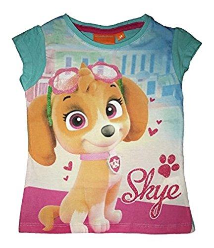 Nickelodeon Mädchen Paw Patrol Skye Top Pup T-Shirt, Türkis (Turquoiz), 2-3 Jahre