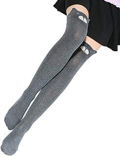 Señoras Medio Otoño Medias Rodilla Calcetines Sobre La Largos Para Estilo Simple Halloween Moda Elástica Casual Cómoda Moda Joven