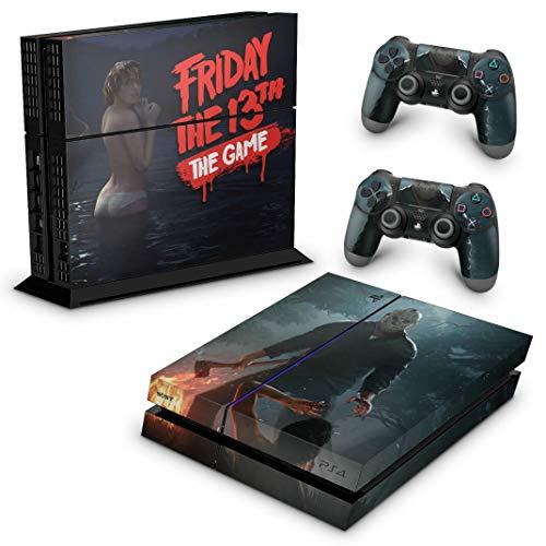 Skin Adesivo para PS4 Fat - Friday The 13Th The Game Sexta-Feira 13