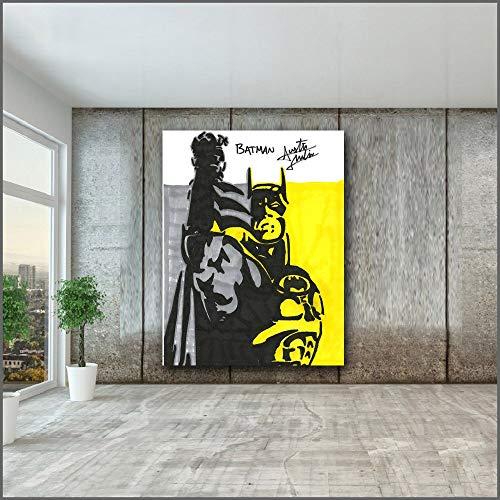 Groot formaat mode olieverfschilderij canvas kunst aan de muur en slaapkamer fotolijst frameloze schilderij 75x100cm