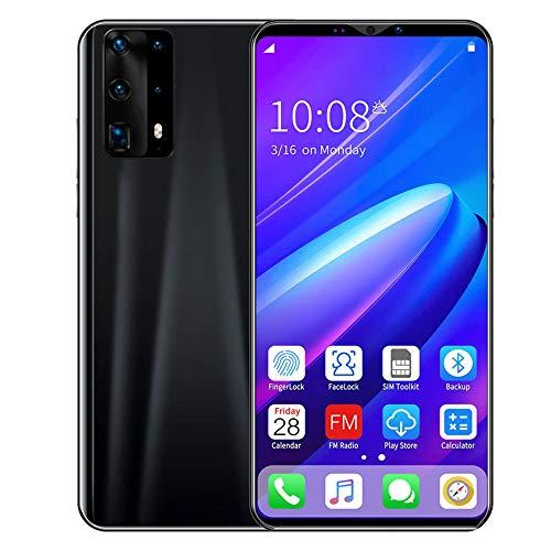 smart phone Sin Tarjeta SIM y teléfono Desbloqueado Teléfono Inteligente Android de 5.0 Pulgadas con cámara Dual de 8 + 13MP 3200mAh en Espera de Largo Espacio de Almacenamiento expandible de 128GB