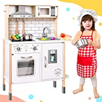 Play-Kitchen-for-Kids with 18 Pcs Toy