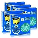 Raid Anti-Mückenspirale 10 Spiralen - Gegen Mücken und Tigermücken (5er Pack)
