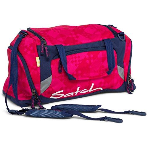 SATCH Cherry Checks Sac à Dos Enfants, 50 cm, Noir (Lila)