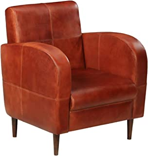 Amazon.es: sillon cuero vintage marron