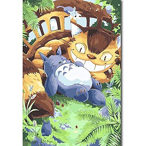LDTSWES Cartoon Animatie Anime Film Legpuzzels, Houten montagepuzzel, Voor volwassen tieners Druk verminderen Spelletjes Speelgoed Puzzel 1000 stukjes