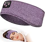 Sleeping Headphones, Perytong Bluetooth Sleep Headphones Headband Soft Comfortable Bluetooth Headband Sleep Earbuds Sports Headband Cool Tech Gadgets Sleeping Gifts Guide for Women Men