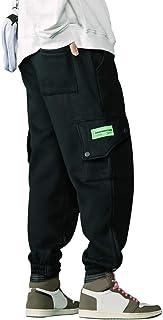 Irypulse Unisex Espesar Cargo Pantalones Combate Trousers Flojo Casual Moda Ropa Calle Pants para Hombres Mujeres Jóvenes ...