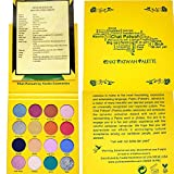 CHAT PATWAH PALETTE - Eyeshadow Palette Makeup - 16 Colors Jamaica Inspired Cosmetic Eye Shadows - Highly Pigmented - Cruelty Free - Vegan Cosmetics - Parabens Free - With Patois Translation Sheet - Learn How To Talk Jamaican Patwah!