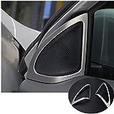 Nogo Car Door Speakers Edge Trim Fit Suitable for Mercedes Benz GLA X156 2014-2015 Car Decoration