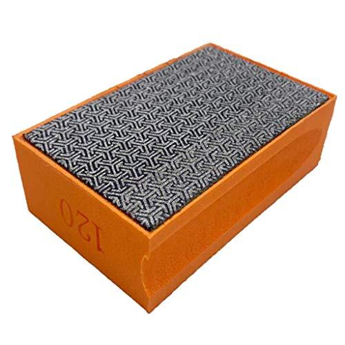 Tubayia Diamant Schleifstein Schleifpad Polieren Werkzeug für Glas, Keramik, Marmor, Beton usw (Körnung 120)