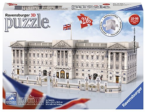 Ravensburger - Puzzle 3D - Building - Buckingham Palace...