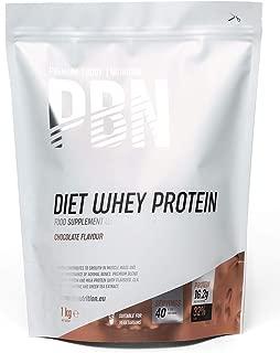 PBN - Paquete de proteína de suero de leche light, 1 kg (sabor chocolate)