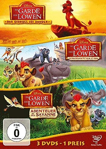 Die Garde der Löwen - Gebrüll / Gemeinsam / Savanne [3 DVDs]