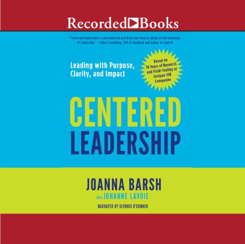 Centered Leadership audiobook cover art