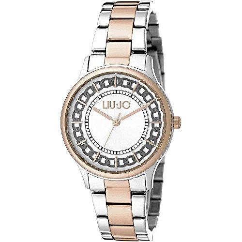 Orologio Donna Aurelia Silver & Gold Rose TLJ1132 - Liu Jo Luxury