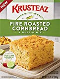 Krusteaz Fire Roasted Cornbread & Muffin Mix, 11.25 Ounce (Pack of 8)
