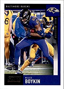 2020 Score Football #43 Miles Boykin Baltimore Ravens Official NFL Trading Card Made by Panini America
