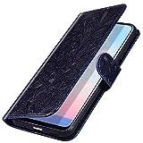 MoreChioce Coque Huawei Nova 3i,compatible avec Coque Rabat pour Huawei P Smart Plus,Élégant Bleu...