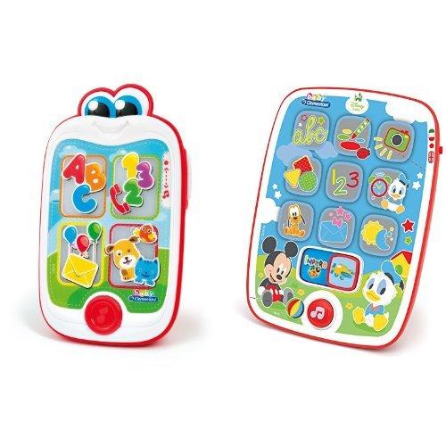 Clementoni 14854 - Baby Smartphone + Clementoni 14912 - Mickey Pad