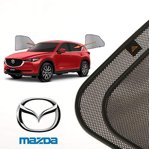 Cortinillas Parasoles Laterales Traseras para Mazda CX-5 (2) (2017–Presente) SUV 5 Puertas