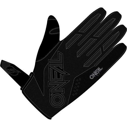 O'NEAL   Fahrrad- & Motocross-Handschuhe   MX MTB DH FR Downhill Freeride   Langlebige, Flexible Materialien, belüftete Handinnenfäche   Element Glove   Herren   Schwarz Weiß   Größe M