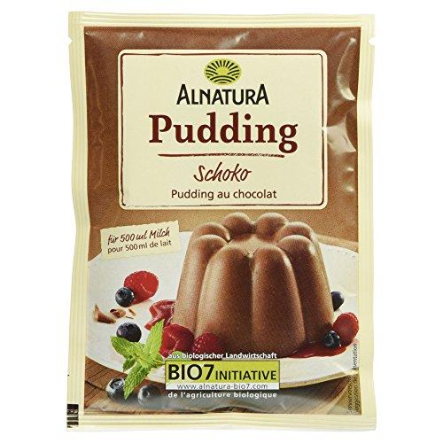 Alnatura Bio Schokopudding, glutenfrei, vegan, 5er Pack (5 x 138 g)