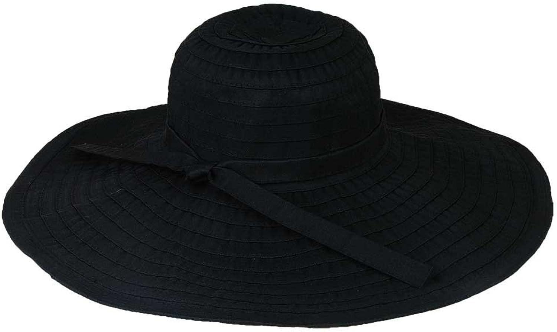 Hat.a.girl Ribbon Crusher Travel Hat 5 inch brim  HS358