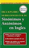 Diccionario Merriam Webster de Sinonimos y Antonimos en Ingles (Dictionary)