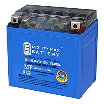 Mighty Max Battery 12V 6AH Gel Battery for Yamaha 450 YFZ450R X 2009-2012 Brand Product