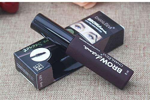 Tinte profesionales para cejas profesionales, 8 ml KIT Negro/Marrón/Marrón Oscuro (Marrón Oscuro)
