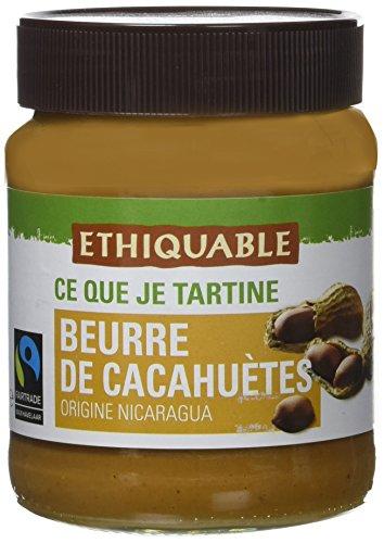 Ethiquable Beurre de Cacahuètes Equitable Nicaragua/Malawi 350 g Max Havelaar