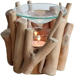 Incense Burner Box Candle Aromatherapy Stove Aromatherapy Oil Lamp Aromatherapy Glass Tray Craft Home Decoration Incense Burner Bowl (Color : D)