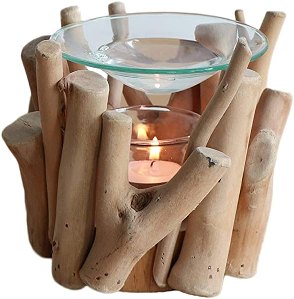 Incense Holders Candle Aromatherapy Stove Aromatherapy Oil Lamp Aromatherapy Glass Tray Craft Home Decoration Color D