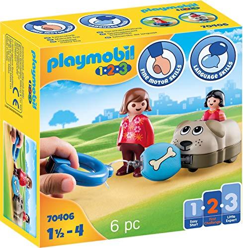 PLAYMOBIL 1.2.3. 70406 Mein Schiebehund, Ab 18 Monaten