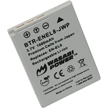 Batteria Nikon EN-EL8 ORIGINALE S52 S51 S50 S9 S7 S5 P2