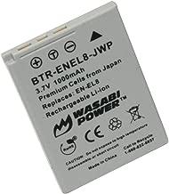 Wasabi Power Battery for Nikon EN-EL8 and Nikon Coolpix P1, P2, S1, S2, S3, S5, S6, S7, S7c, S8, S9, S50, S50c, S51, S51c, S52, S52c, Cool-Station MV-11, MV-12