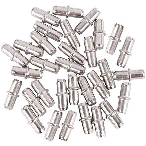 Tbestmax 100Packs étagère broches, 5mm Piquets de support d