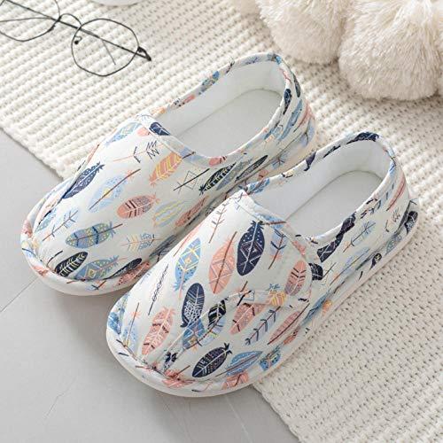 Gezwollen voetschoenen,Dunne hakken voor kraamschoenen, kraamschoenen met zachte boorden-40_wit,Diabetische wandelschoenen voor heren Ademende sneakers