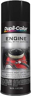 Dupli-Color EDE161307 Ceramic Gloss Black Engine Paint – 12 oz.