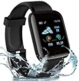 MARVIK® [Today Exclusive Offer with New Edition] D8 Wireless Smart Fitness Watch for Boys/Men/Kids/Women | Sports Watch Compatible with All Smart Phones | Heart Rate and BP Monitor, Calories Counter