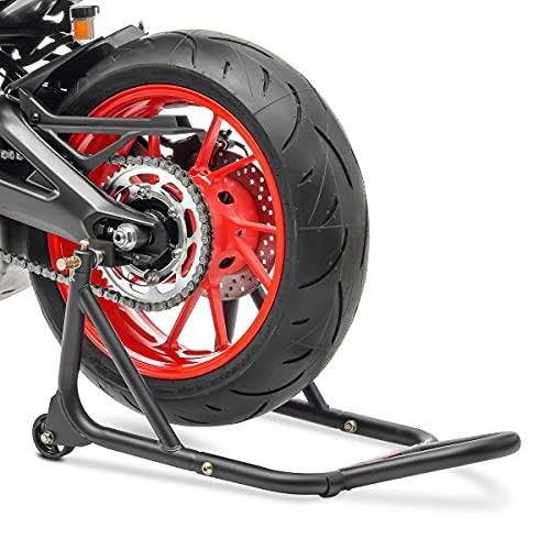 Béquille d'Atelier Moto Arrière Suzuki Gladius 650 ConStands XM Universal Noir Mat