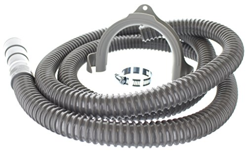 8 ft Heavy Duty Washing Machine Drain Hose | Corrugated Flexible Discharge Design by Kelaro