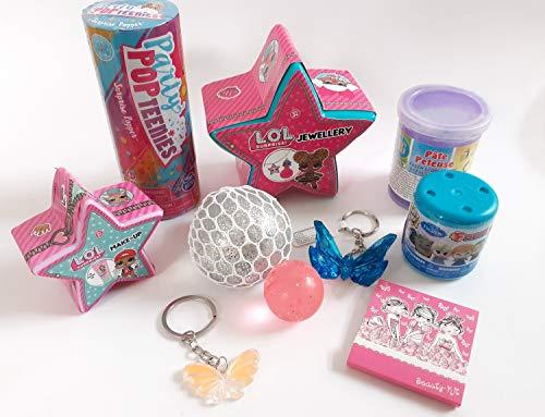 101328 Mitgebsel Set 10tlg für Mädchen kleine Geschenke Füllung Adventskalender Schultüte Geburtstag
