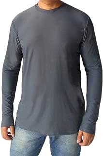 Camiseta adulta masculina manga longa proteção solar Uv50