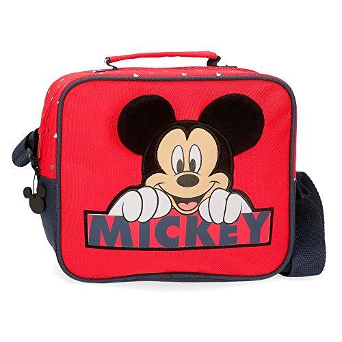 Disney Neceser Happy Mickey Adaptable con Bandolera