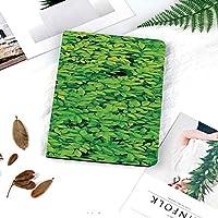 軽量版iPad 9.7 2018/2017 ケース 軽量 薄型 スタンド オートスリープ機能 2017年と2018年の新型 9.177 iPad ケース 新鮮な庭の森小さな葉緑豊かな成長有機自然アウトドアウッズ植物