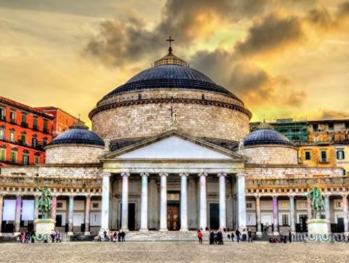 Lais Puzzle Basilica di San Francesco di Paola Napoli Italia 1000 Pezzi